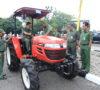 Pemkot Prabumulih Terima Bantuan Traktor dan 2 Unit Bus Angkutan Kota