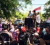 Penuhi Hak Pekerja BHL, Buruh Demo di Disnakertrans