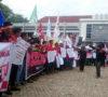 Peringati May Day, Buruh di Muaraenim Sampaikan Aspirasi
