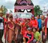 Warga Batak Muba Ikut Karnaval