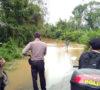 Curah Hujan Tingi, Polsek Keluang Antispasi Banjir