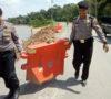 Sat Sabhara dan Sat Intelkam Polres Muba Lakukan Patroli Bersama