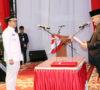 Gubernur Sumsel Lantik Teddy Mellwansyah Jadi Pj Bupati Muaraenim