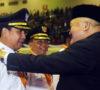Usai dilantik Gubernur, Nansuko Resmi Pimpin Lubuklinggau