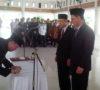 Pj Bupati Muaraenim Rotasi 8 Pejabat Esselon II