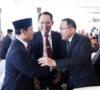 Dodi Reza Hadiri Pelantikan Pj Gubernur Sumsel