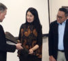 Thia Yufada Dodi Reza Kenalkan Kain Jumputan Gambo Muba ke Luar Negeri