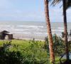 Pembangunan Penahan Gelombang Pantai Pasar Bawah Teralisasi