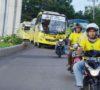 Timnas All Star Diarak Keliling Kota Palembang, Siap Ramaikan Alex Noerdin Cup