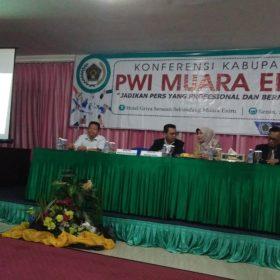 PWI Muaraenim Gelar Konferensi Kabupaten