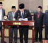 Pemkab-DPRD Muba Sepakati Raperda Pertanggungjawaban Pelaksanaan APBD TA 2018