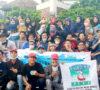 Pemuda Muaraenim Gelar Aksi Galang Dana Korban Kebakaran