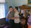 Kapolsek Gelumbang Kunjungi Dua Purnawirawan Polri