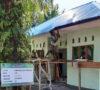 Pembangunan Perpustakaan Desa Manggul Mencapai 80 Persen
