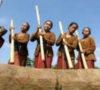 Tradisi Tumbuk Lesung Salah Satu Kegiatan Yang Tandai Opening KTNA XIII Di MUBA