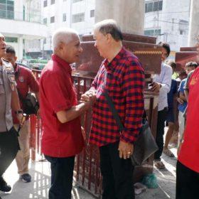 Hari Raya Imlek, Bupati dan Kapolres Asahan Kunjungi Wihara dan Pantai Jompo