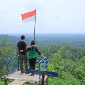 Pemkab Muba Dorong Bukit Pendape Menjadi Wisata Alam