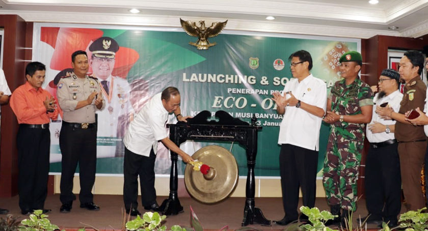 Sekda Launching Penerapan Eco Office