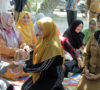 Ketua TP PKK Asahan Serahkan bantuan Korban Kebakaran Pulau Rakyat