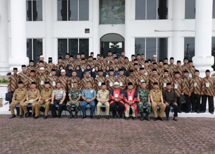 Bupati Asahan Lantik dan Bai'at Dewan Hakim MTQ Tingkat Kabupaten