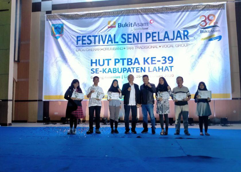 Festival Seni HUT PT BA Ke-39, Lahirkan Seniman Lahat