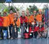 Vertical Rescue FPTI Sumsel Asah Skill Saat Evakuasi Korban Bencana