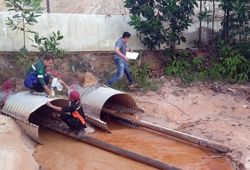 Tim Polda Sumsel Temukan Sedimentasi Sungai di Area Produksi Migas Conocophillips