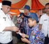 Bupati Hadir, Suatu Kebanggaan Bagi Masyarakat Desa Marjanji Aceh