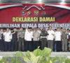 246 Calon Kades Deklarasi Damai Siap Kalah dan Menang