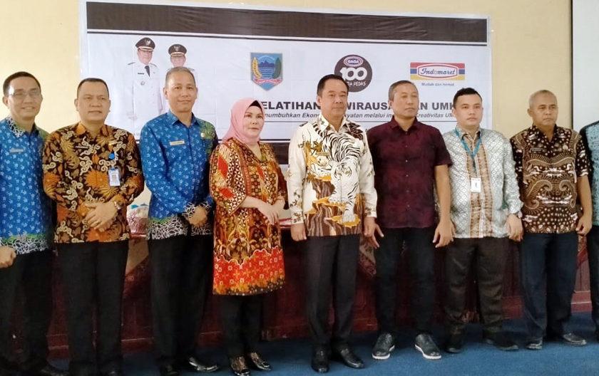 PT Indomarco Gandeng Pemkab Lahat Gelar Pelatihan UMKM