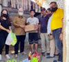 Tim Satgas Covid-19 Alex Noerdin Bersama PWI Peduli Sumsel Bantu Warga Yang Viral di Medsos Akibat Kelaparan