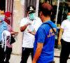 Pemkab, Gemacita, dan PWI Bagikan Ribuan Masker Kepada Masyarakat Lahat