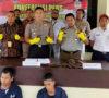 Dua Pelaku Pencuri Panrol Rel Kereta Api Desa Sukamerindu Diringkus Polisi