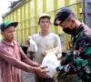 Yonkav-5 DPC Karang Endah Bantu Masyarakat Ditengah Wabah Corona