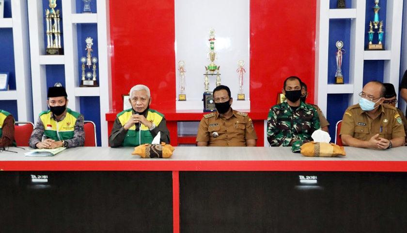 Kaum Dhuafa terima bantuan beras dari Bupati Asahan