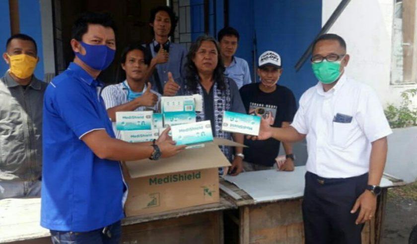 PT OKI Pulp Bantu Puluhan Ribu Masker Kepada Masyarakat