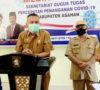 Positif Covid-19 Ada 8 Kasus di Kabupaten Asahan