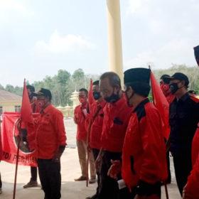 Kader DPC PDIP Pali Minta Usut Pelaku Pembakaran Bendera PDIP