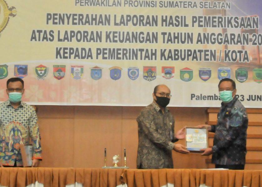 Kabupaten Lahat Raih Predikat WTP
