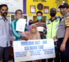 Pemdes Tanjung Tebat Salurkan Tiga Bulan BLT-DD