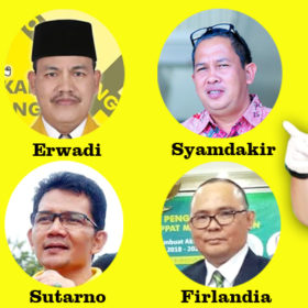 Ridho Bakal Terganjal Rekomendasi DPD Sumsel, Syamdakir, Daud, Welizar, Sutarno, Firlandia dan Erwadi Bakal Perebutkan Kursi Ketua