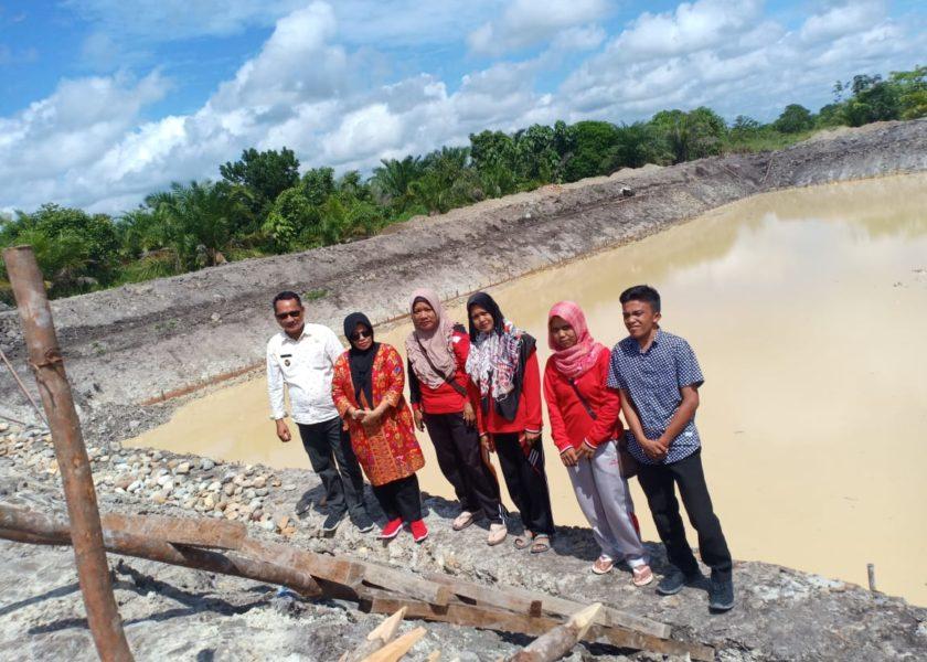 Bangun Embung Pemdes Jadi Mulya Akan Hidupkan Persawahan Sekaligus Agrowisata Spot Mancing