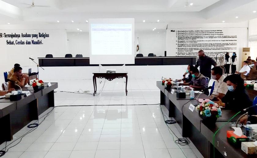Kunker DPRD Provsu Dapil V di Kabupaten Asahan