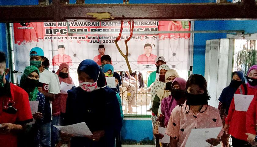DPC PDIP Pali Bentuk Anak Ranting