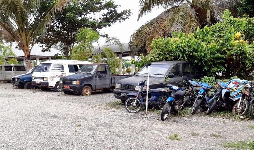 12 Unit Kendaraan Dilelang BPKAD Bengkulu Selatan