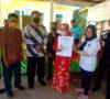 Camat Kikim Timur Saksikan BLT DD Bulan Kedua dan Ketiga Desa Partikal Baru