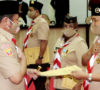 Plt Bupati Terima Penghargaan Lencana Pancawarsa III Gerakan Pramuka
