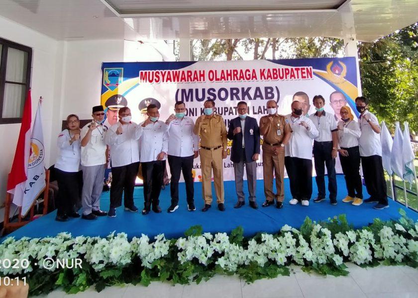 Musorkab, Pilih Ketua Koni Lahat Periode 2020-2024