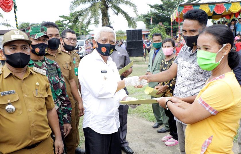 Masyarakat Desa Padang Mahondang Tetap Jaga Kerukunan Agama