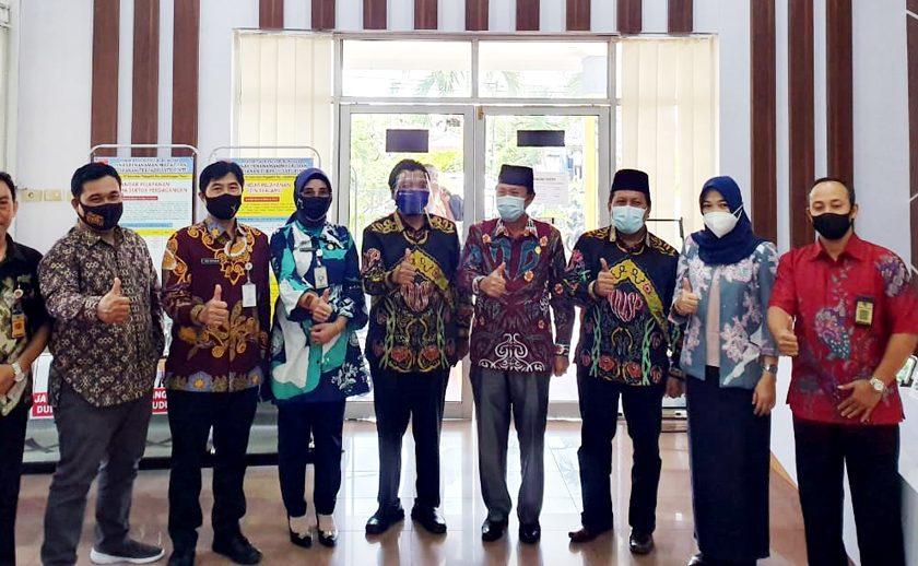 Plt Wako Bengkulu Kunker ke Lubuklinggau, Apresiasi PTSP dan WTP 9 Kali